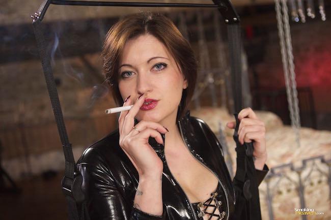 strapon film smoking and sex fetish